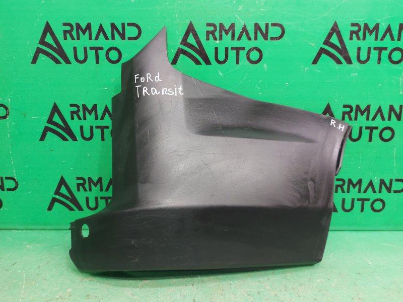 Накладка бампера Ford Transit Custom 1 2012 задняя правая (б/у)