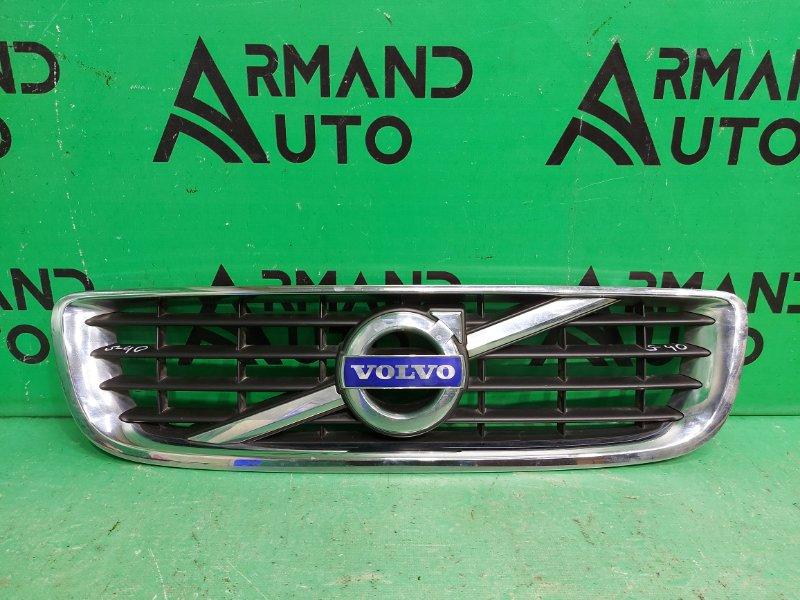 Решетка радиатора Volvo S40 2 РЕСТАЙЛИНГ 2007 (б/у)