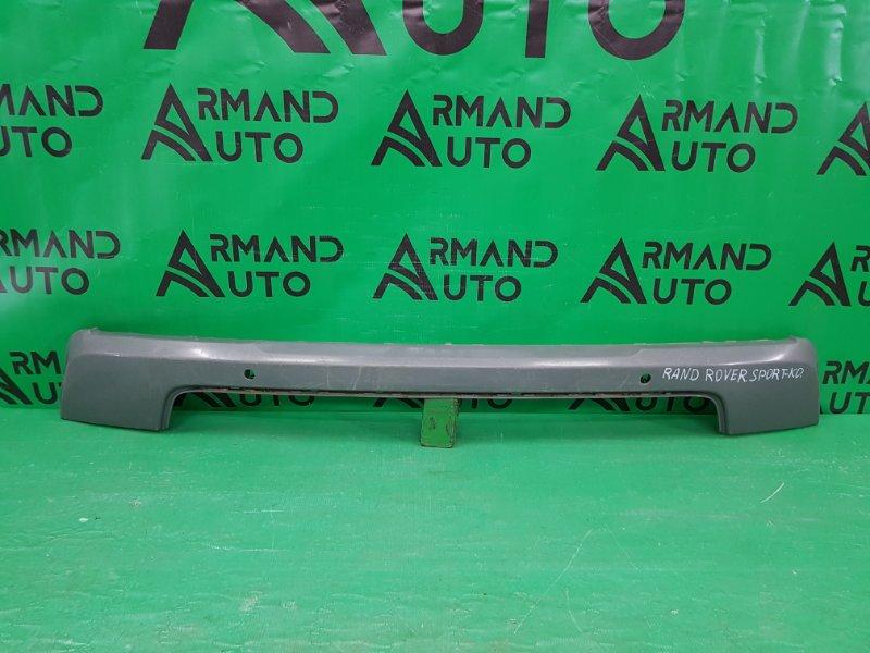 Накладка бампера Land Rover Range Rover Sport 2 РЕСТАЙЛИНГ 2017 задняя (б/у)