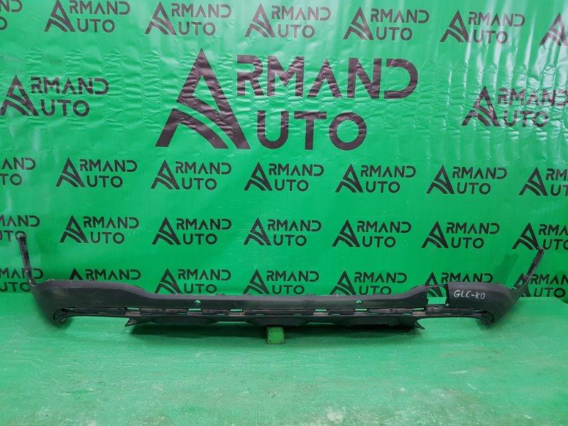 Юбка бампера amg Mercedes Glc X253 2015 задняя (б/у)