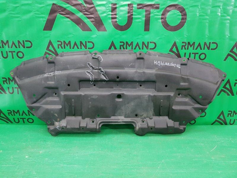 Пыльник бампера (двигателя) Toyota Highlander 3 2013 (б/у)