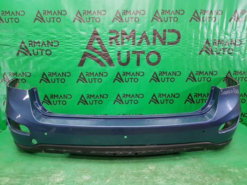 Бампер Hyundai Santa Fe 2 РЕСТАЙЛИНГ 2009 задний (б/у)