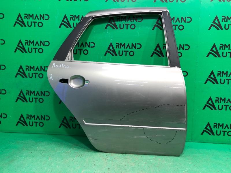Дверь Lada Granta 1 2011 задняя правая (б/у)
