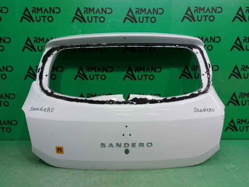 Дверь багажника Renault Sandero 2 2014 (б/у)