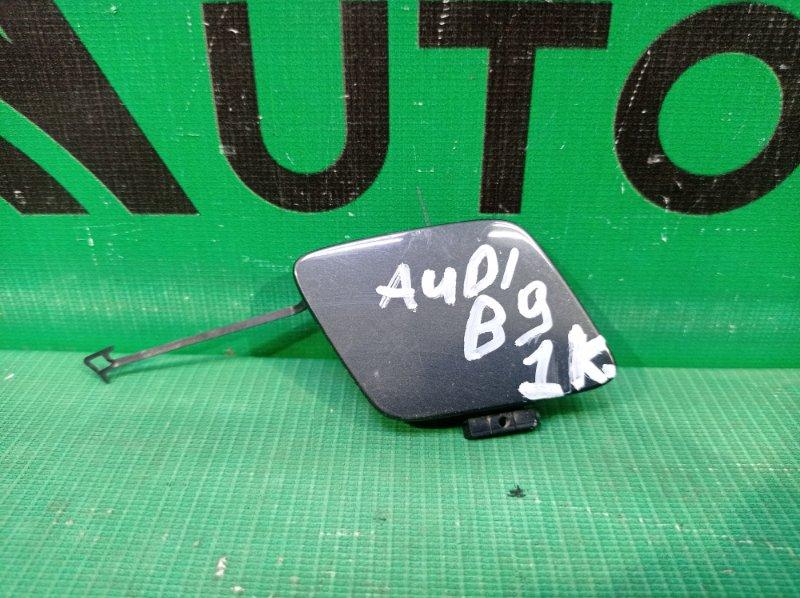 Крышка буксировочного крюка Audi A5 2 8W 2016 передняя (б/у)