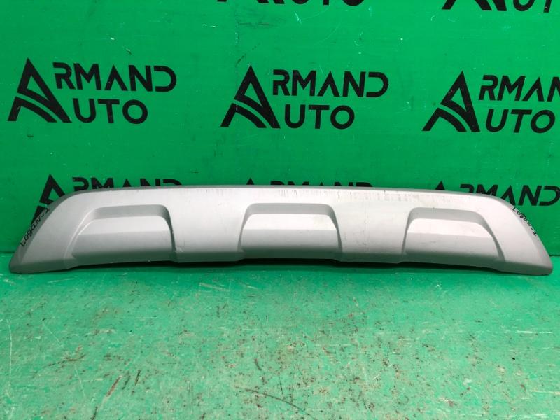 Накладка бампера Renault Sandero Stepway 2 2014 задняя (б/у)