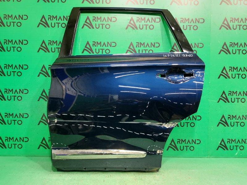 Дверь Infiniti Qx60 L50 2012 задняя левая (б/у)