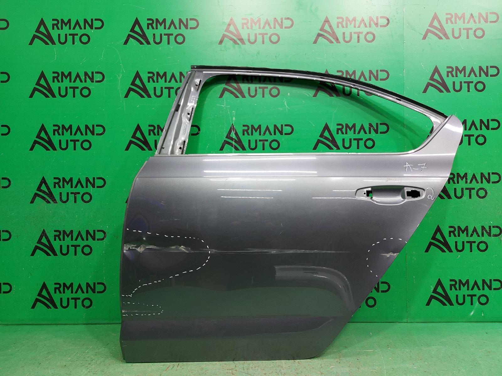 Дверь Skoda Octavia A7 2013 задняя левая (б/у)