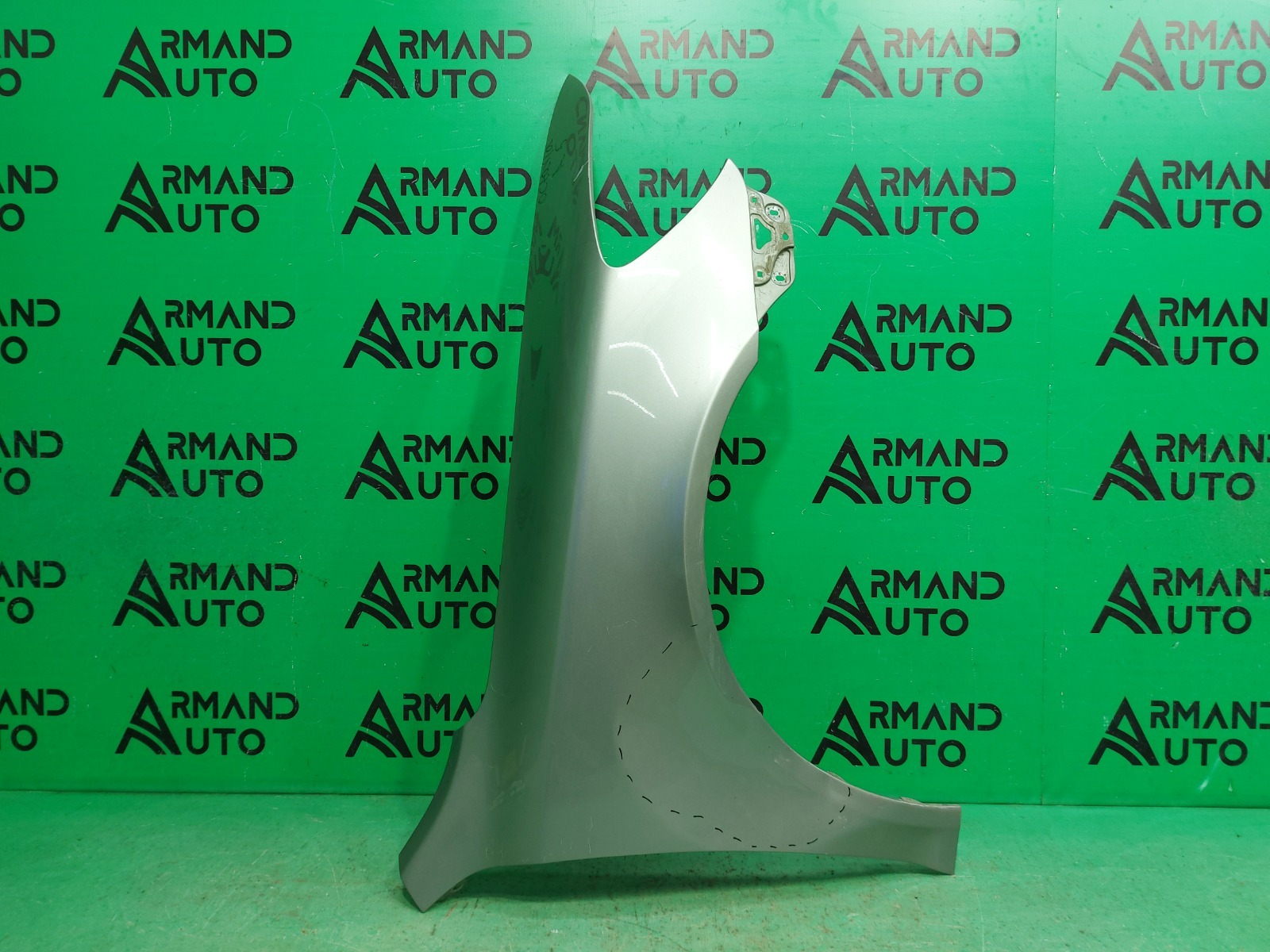 Крыло Skoda Octavia A5 РЕСТАЙЛИНГ 2008 переднее правое (б/у)