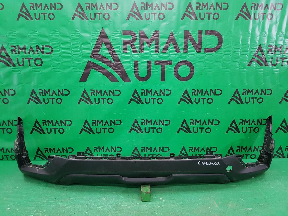 Юбка бампера Hyundai Creta 1 2016 задняя (б/у)