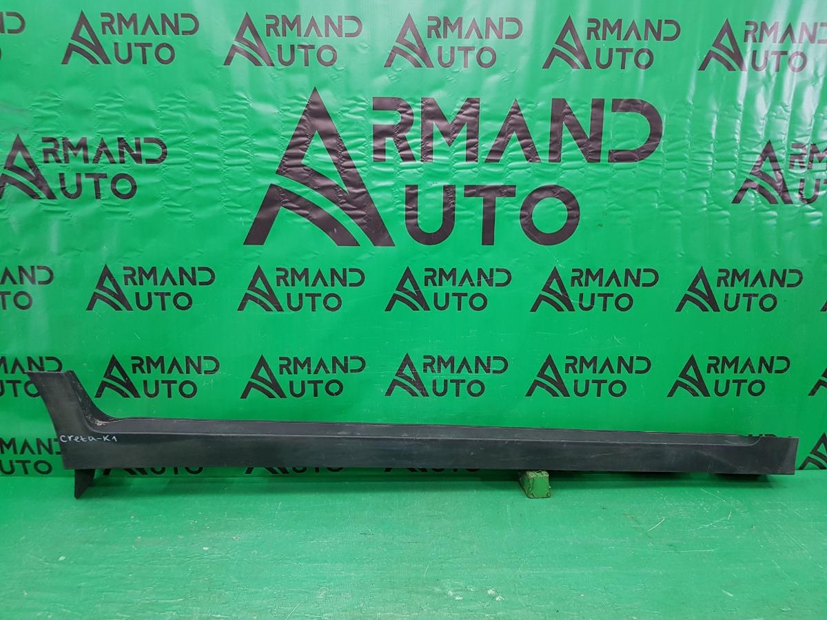 Накладка порога Hyundai Creta 1 2016 правая (б/у)