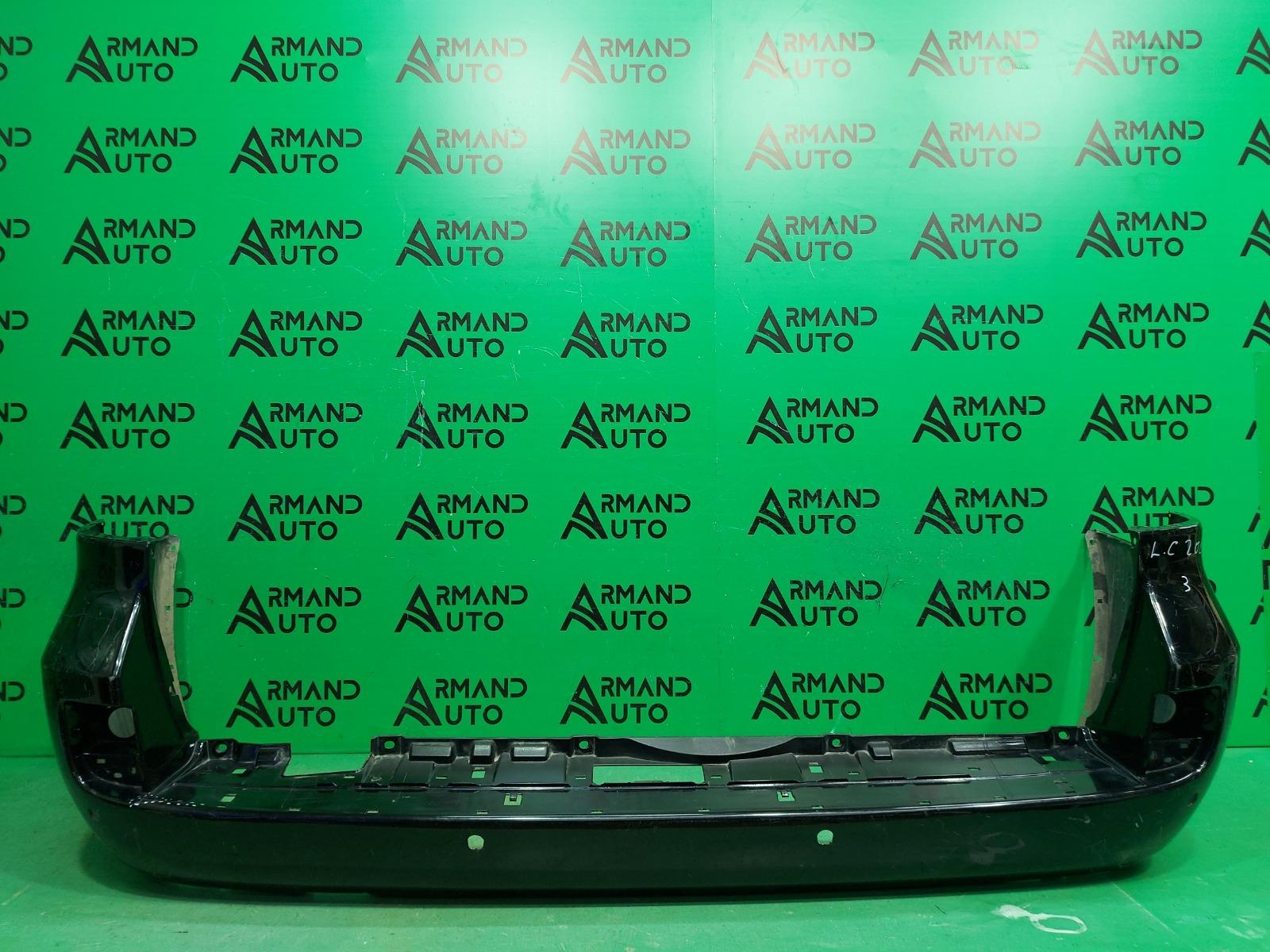 Бампер Toyota Land Cruiser 200 РЕСТАЙЛИНГ 2012 задний (б/у)