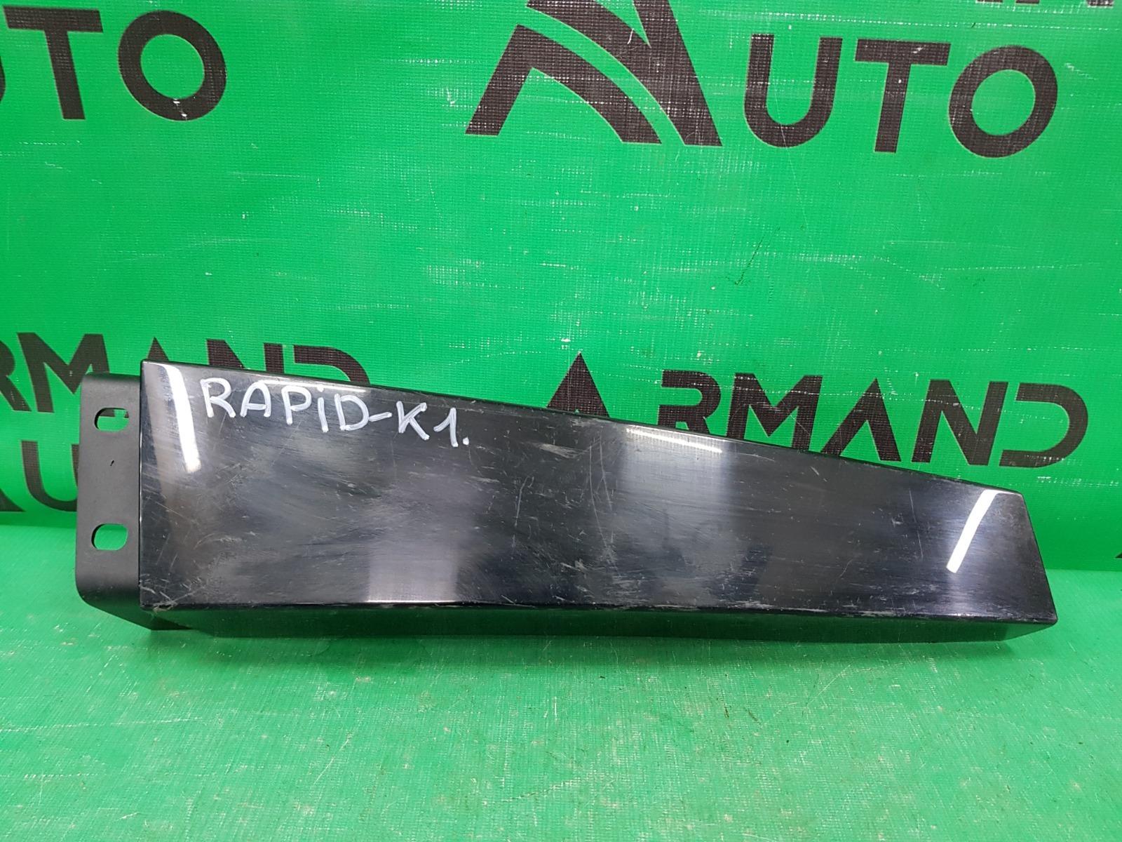 Накладка стойки двери Skoda Rapid 2012 левая (б/у)