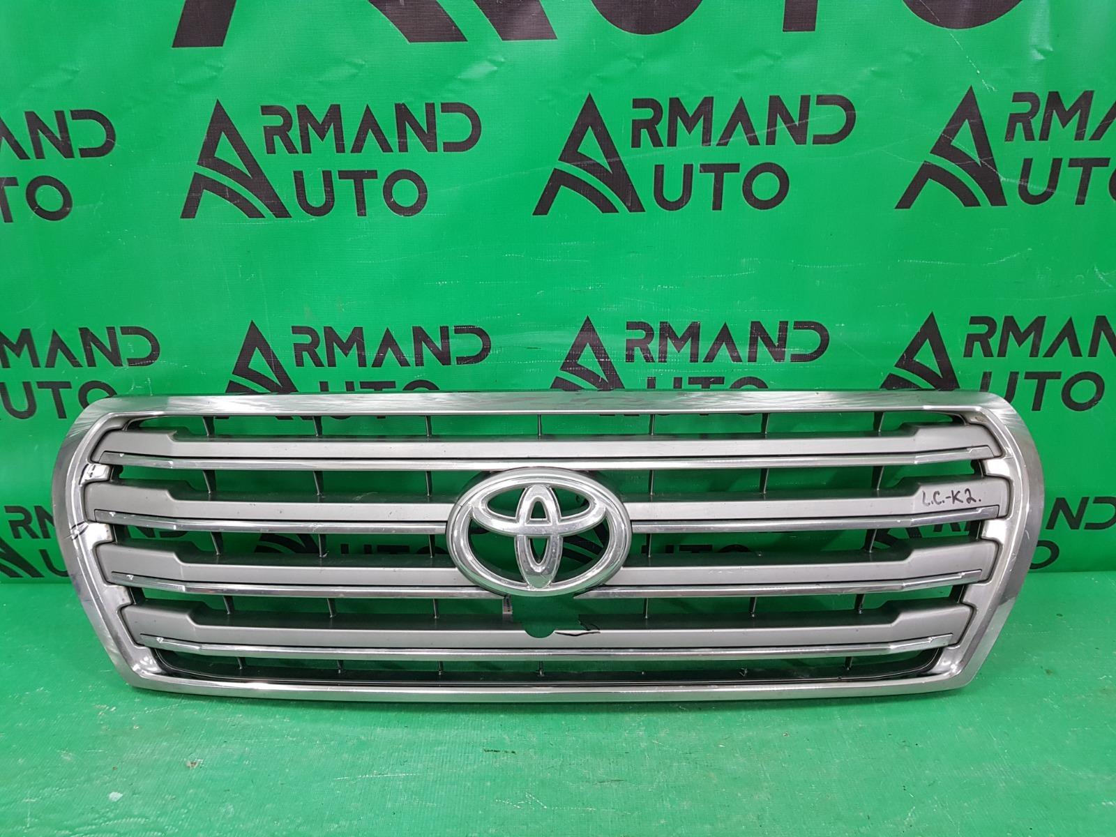 Решетка радиатора Toyota Land Cruiser 200 РЕСТАЙЛИНГ 2012 (б/у)