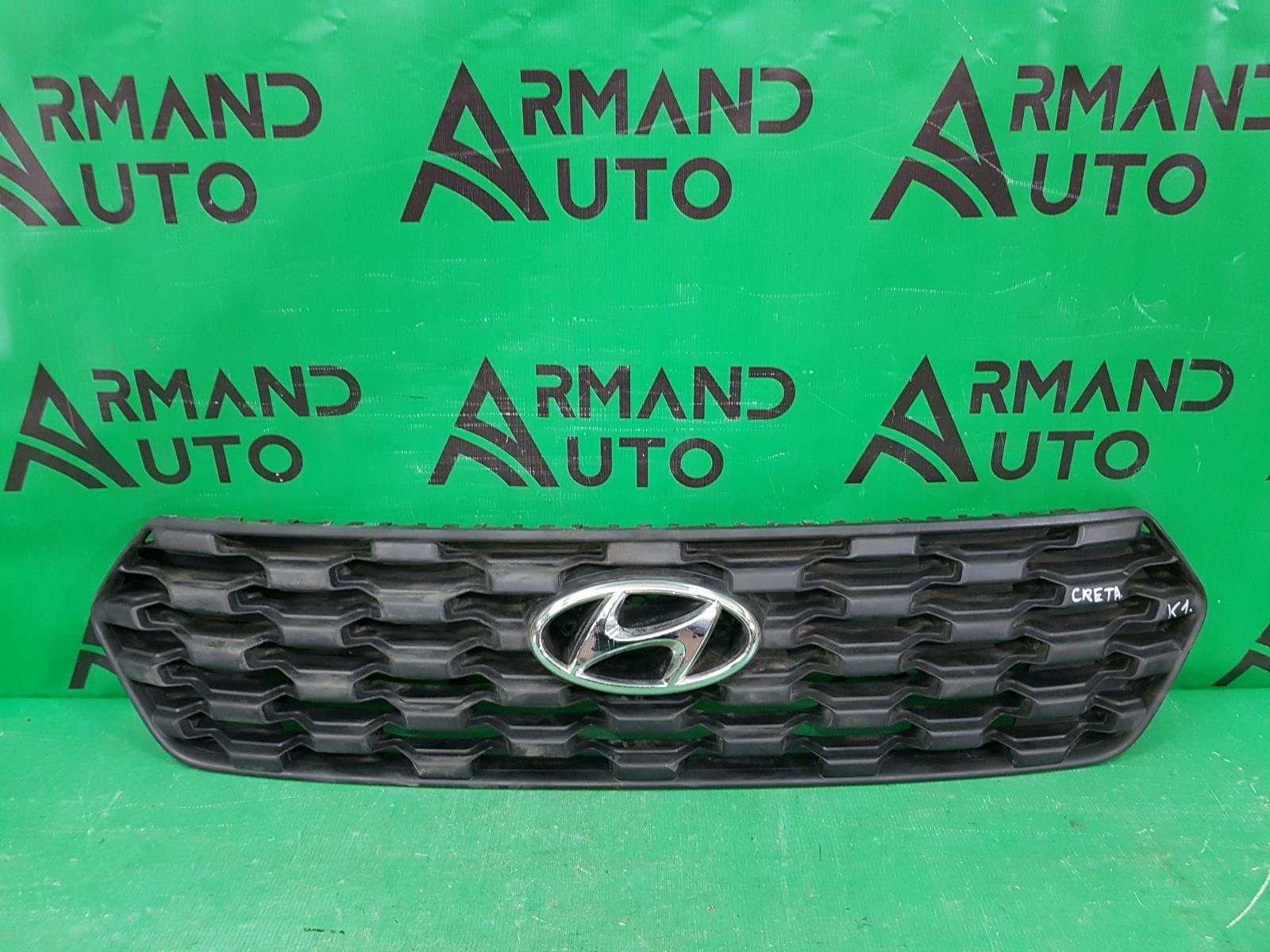 Решетка радиатора Hyundai Creta 1 РЕСТАЙЛИНГ 2020 (б/у)