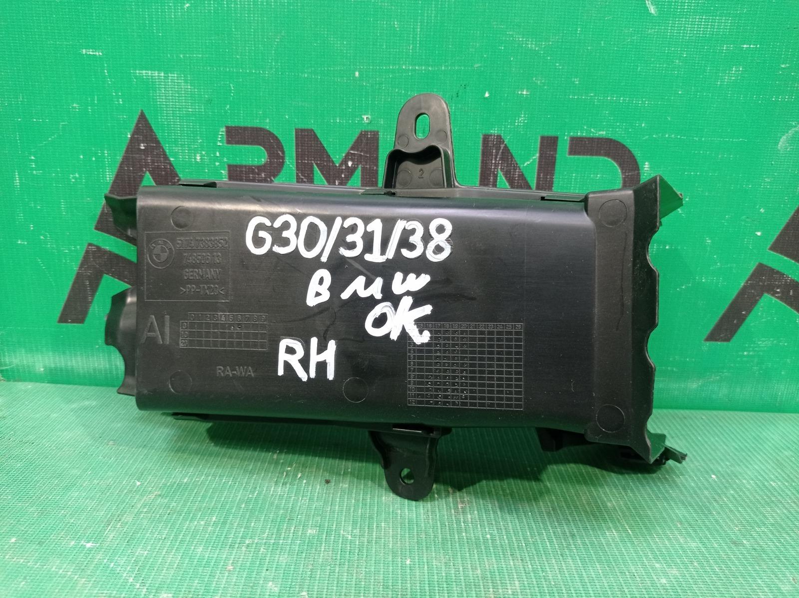 Воздуховод тормозов Bmw 5 Series G30 G31 2016 правый (б/у)