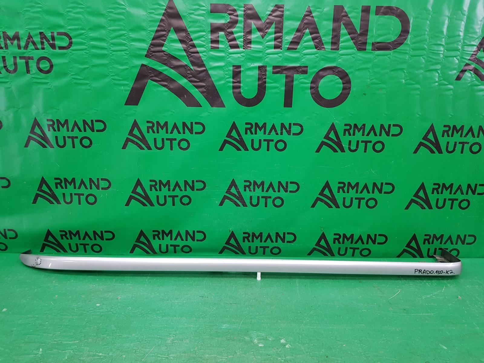 Накладка порога Toyota Land Cruiser Prado 150 2009 правая (б/у)