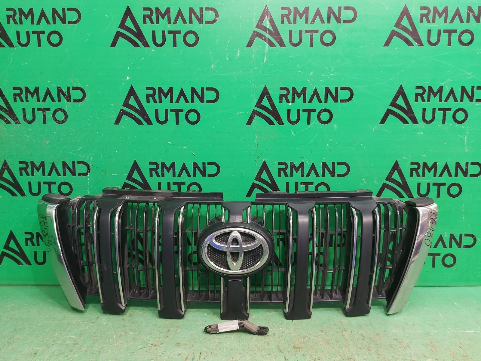 Решетка радиатора Toyota Land Cruiser Prado 150 РЕСТАЙЛИНГ 2013 (б/у)