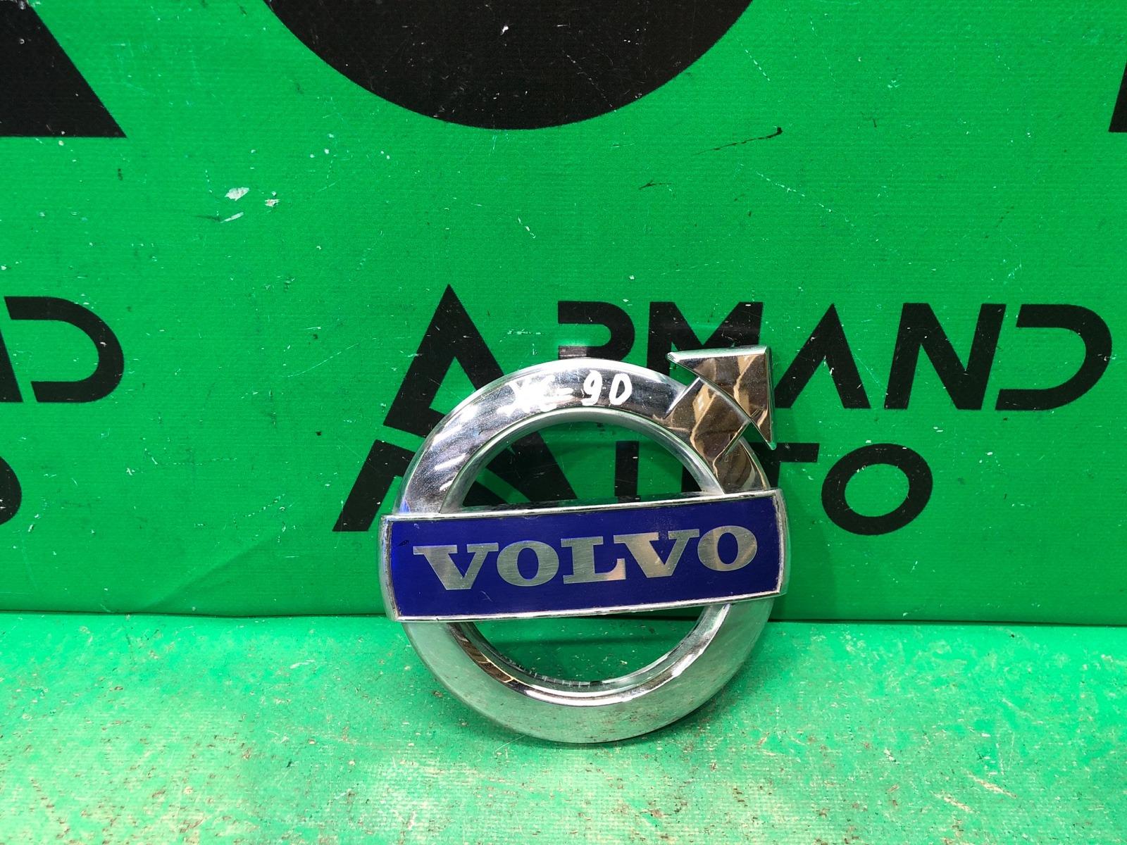 Эмблема Volvo Xc60 1 РЕСТАЙЛИНГ 2013 передняя (б/у)