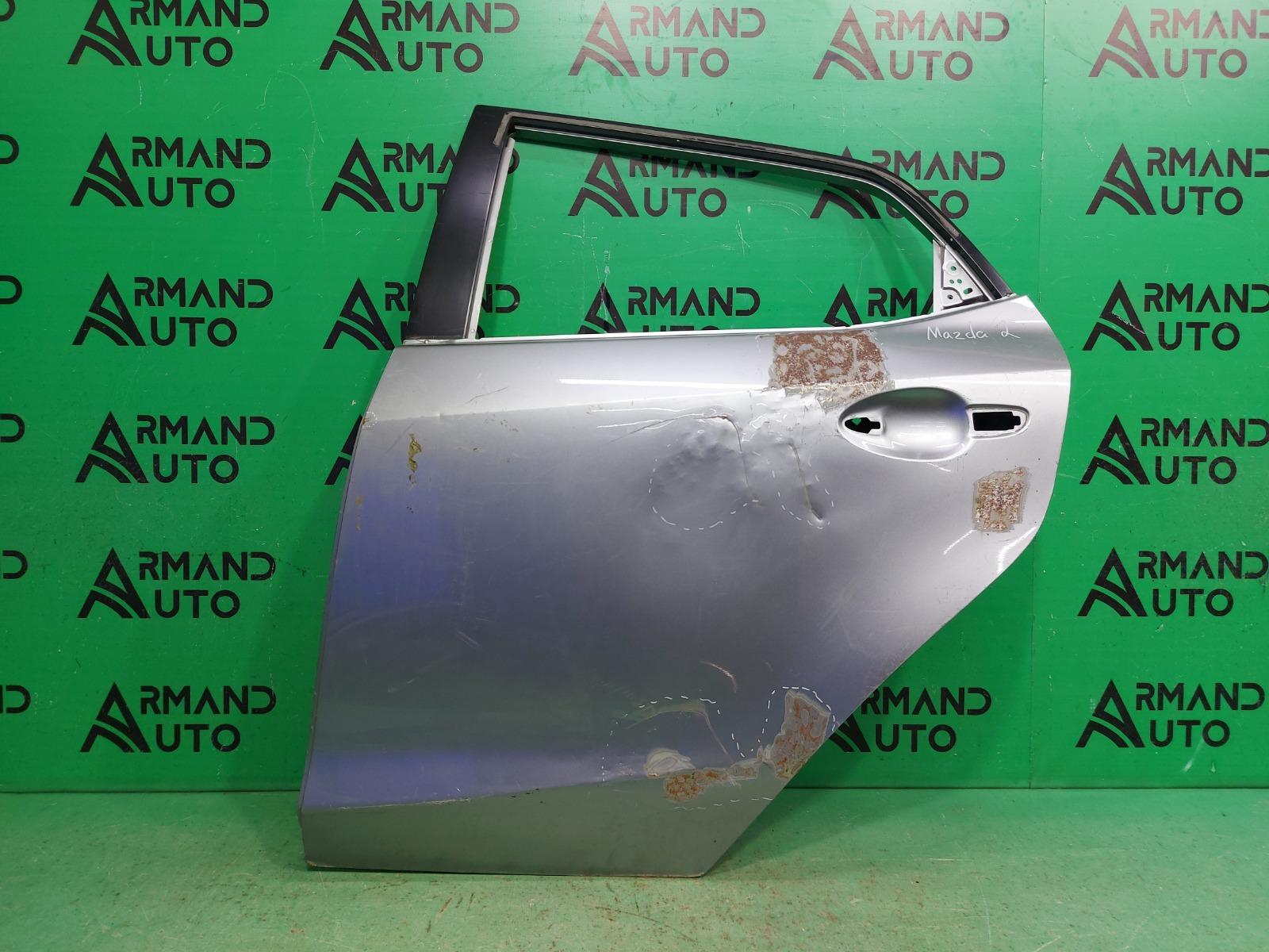 Дверь Mazda 2 DE 2 РЕСТАЙЛИНГ 2010 задняя левая (б/у)