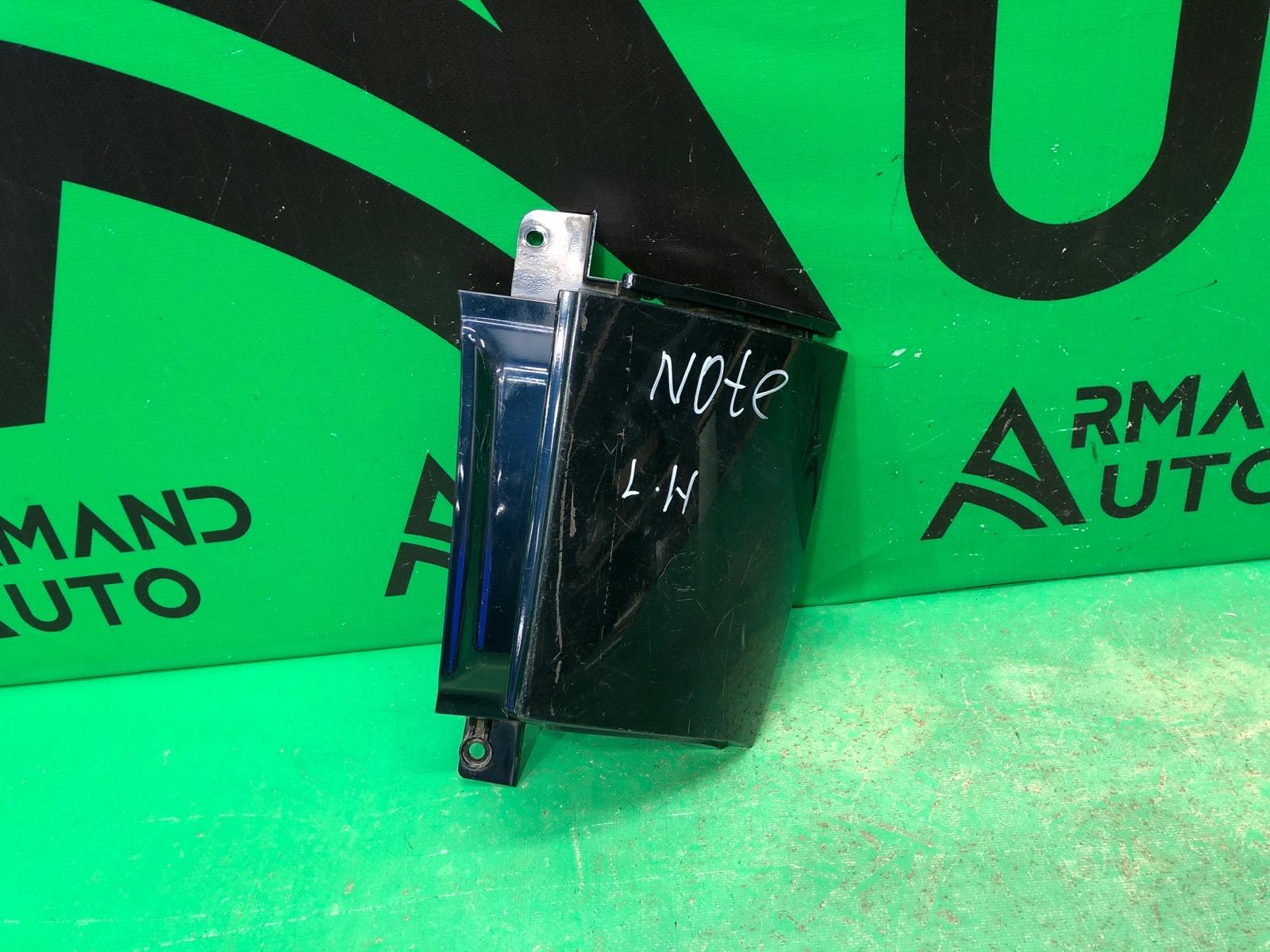 Накладка бампера Nissan Note 2005 задняя левая (б/у)