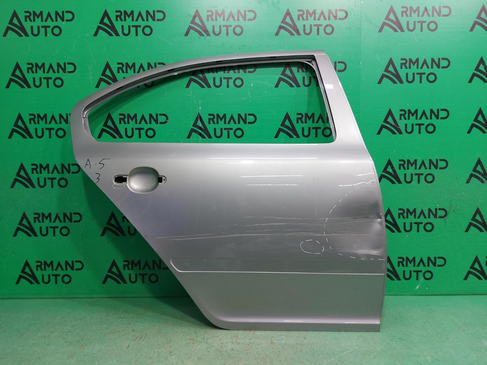 Дверь Skoda Octavia A5 2004 задняя правая (б/у)