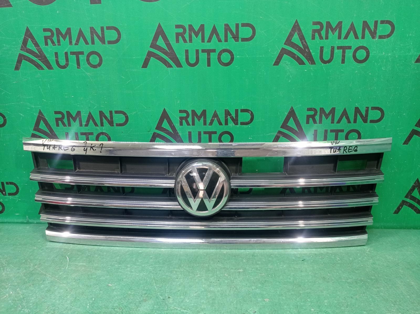 Решетка радиатора Volkswagen Touareg 3 2018 (б/у)