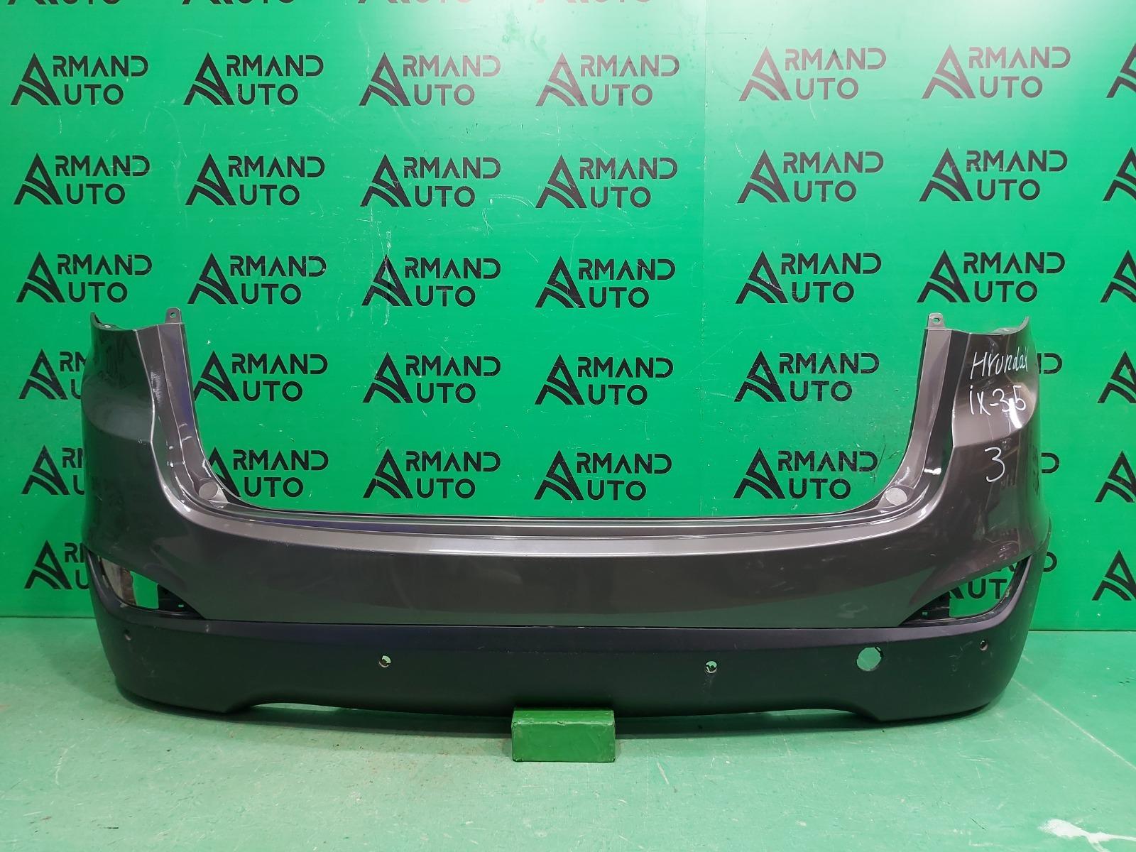Бампер Hyundai Ix35 1 2010 задний (б/у)