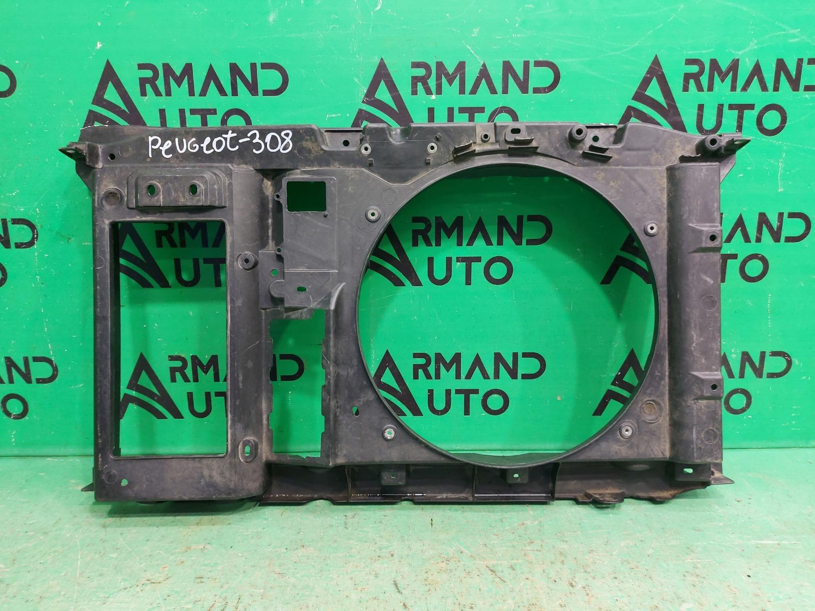 Диффузор вентилятора Peugeot 308 2008 (б/у)
