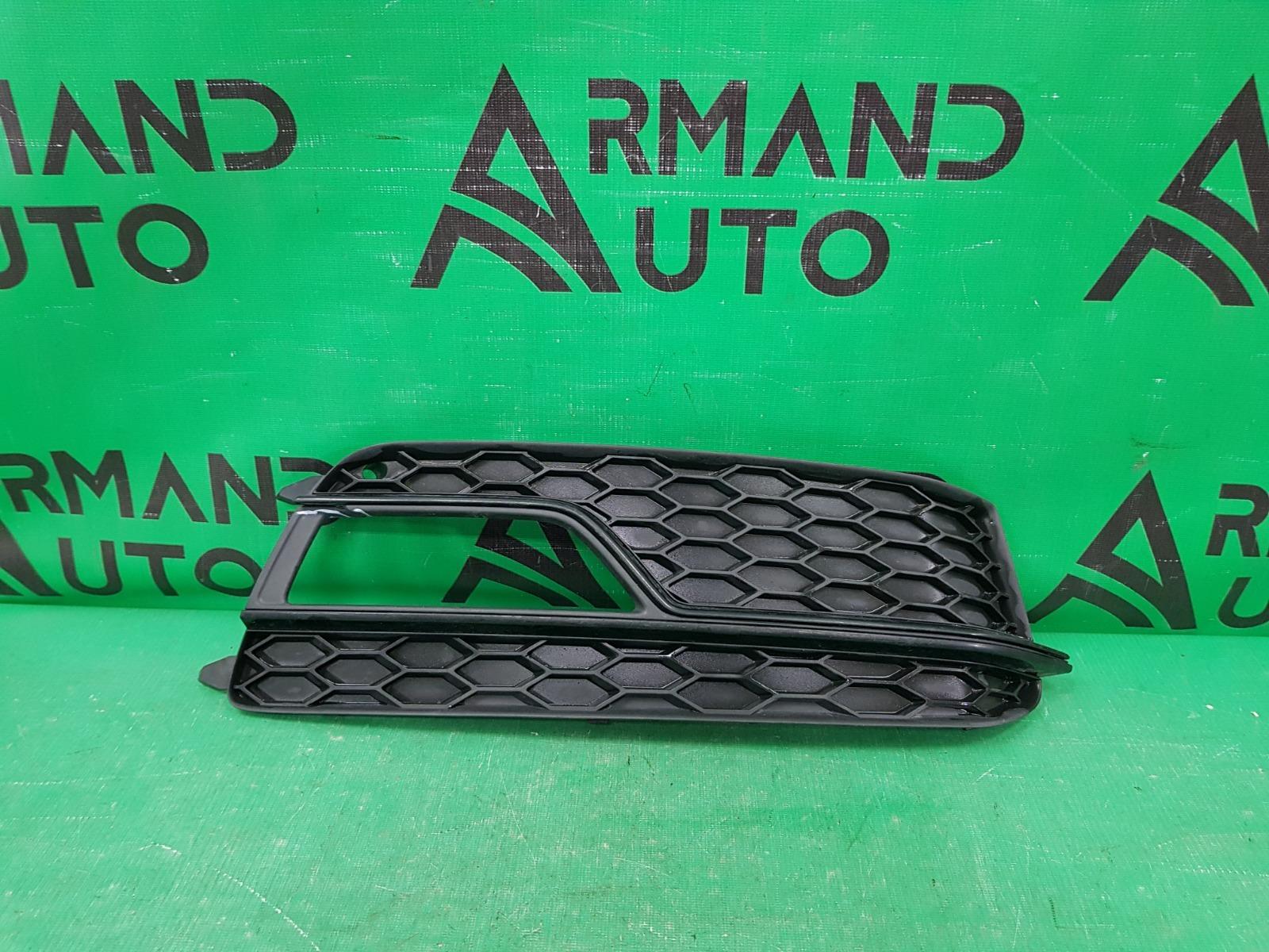 Накладка птф s-line Audi A5 8T РЕСТАЙЛИНГ 2011 передняя правая (б/у)
