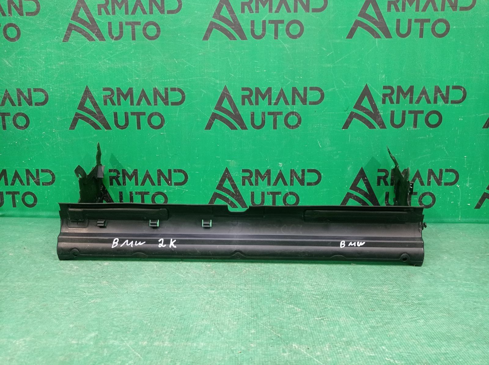 Дефлектор радиатора Bmw 5 Series G30 G31 2016 нижний (б/у)