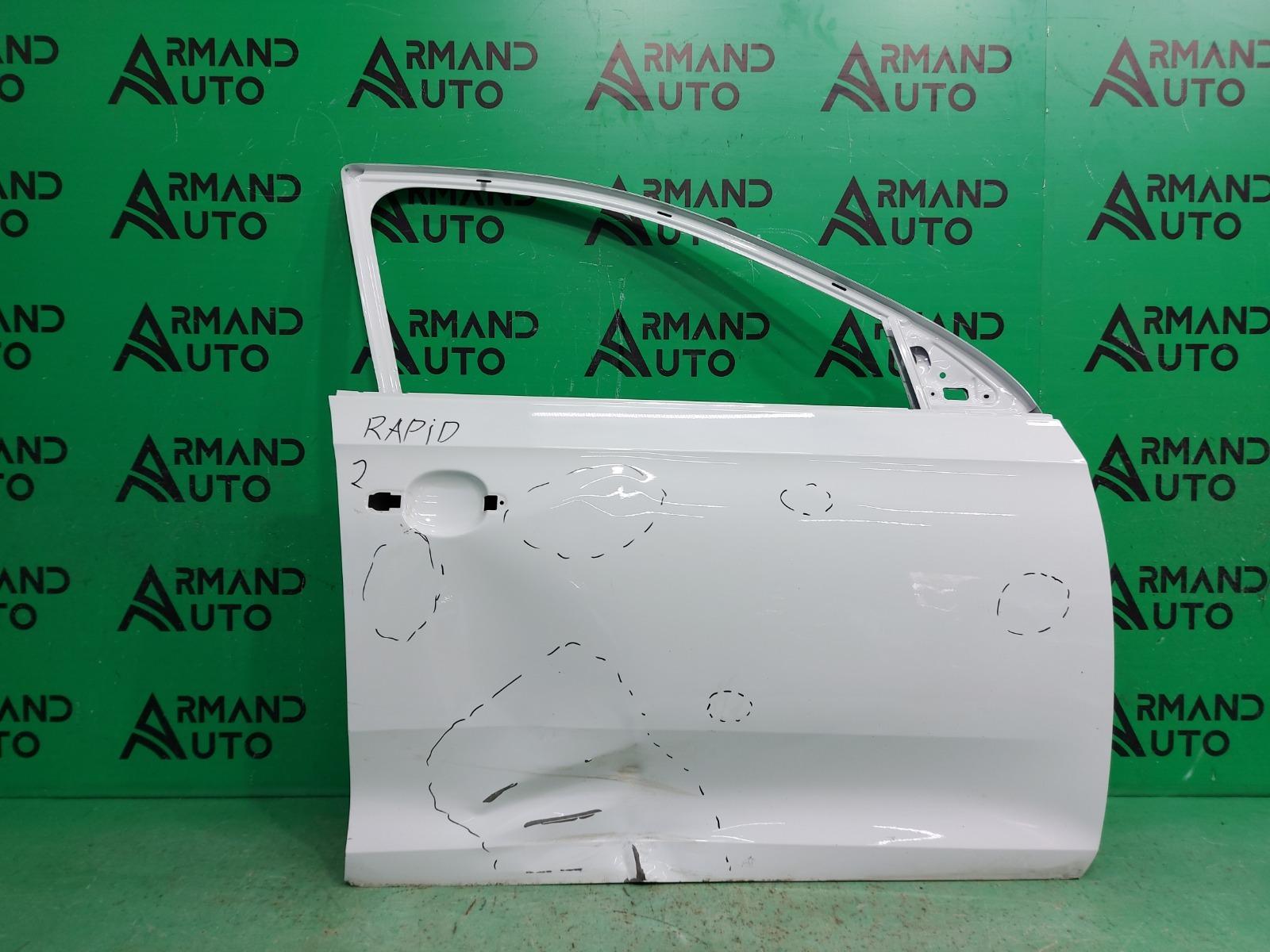 Дверь Skoda Rapid 2012 передняя правая (б/у)