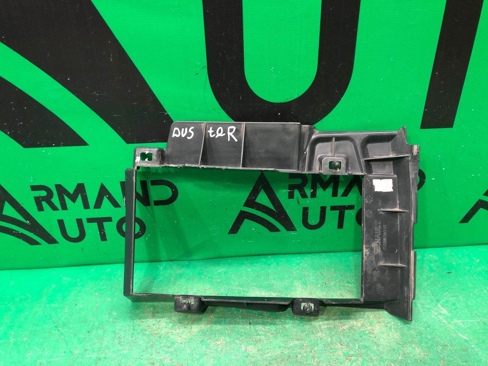 Дефлектор радиатора Renault Duster 1 2010 (б/у)