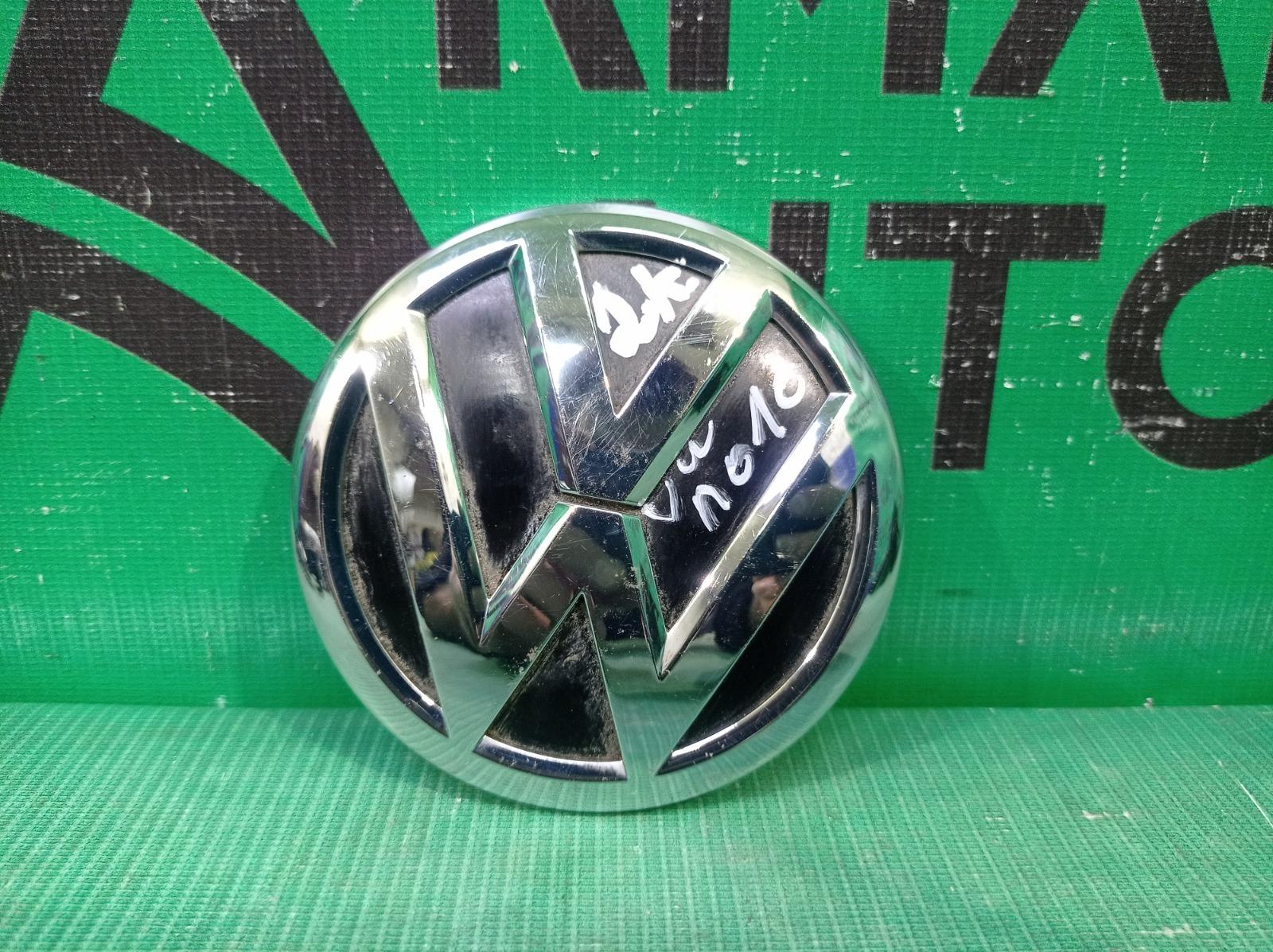 Эмблема Volkswagen Polo 5 2014 задняя (б/у)