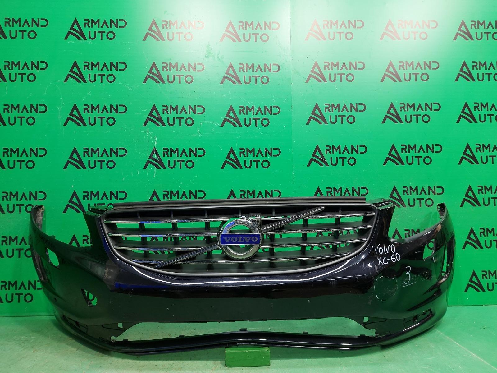 Бампер Volvo Xc60 1 РЕСТАЙЛИНГ 2013 передний (б/у)