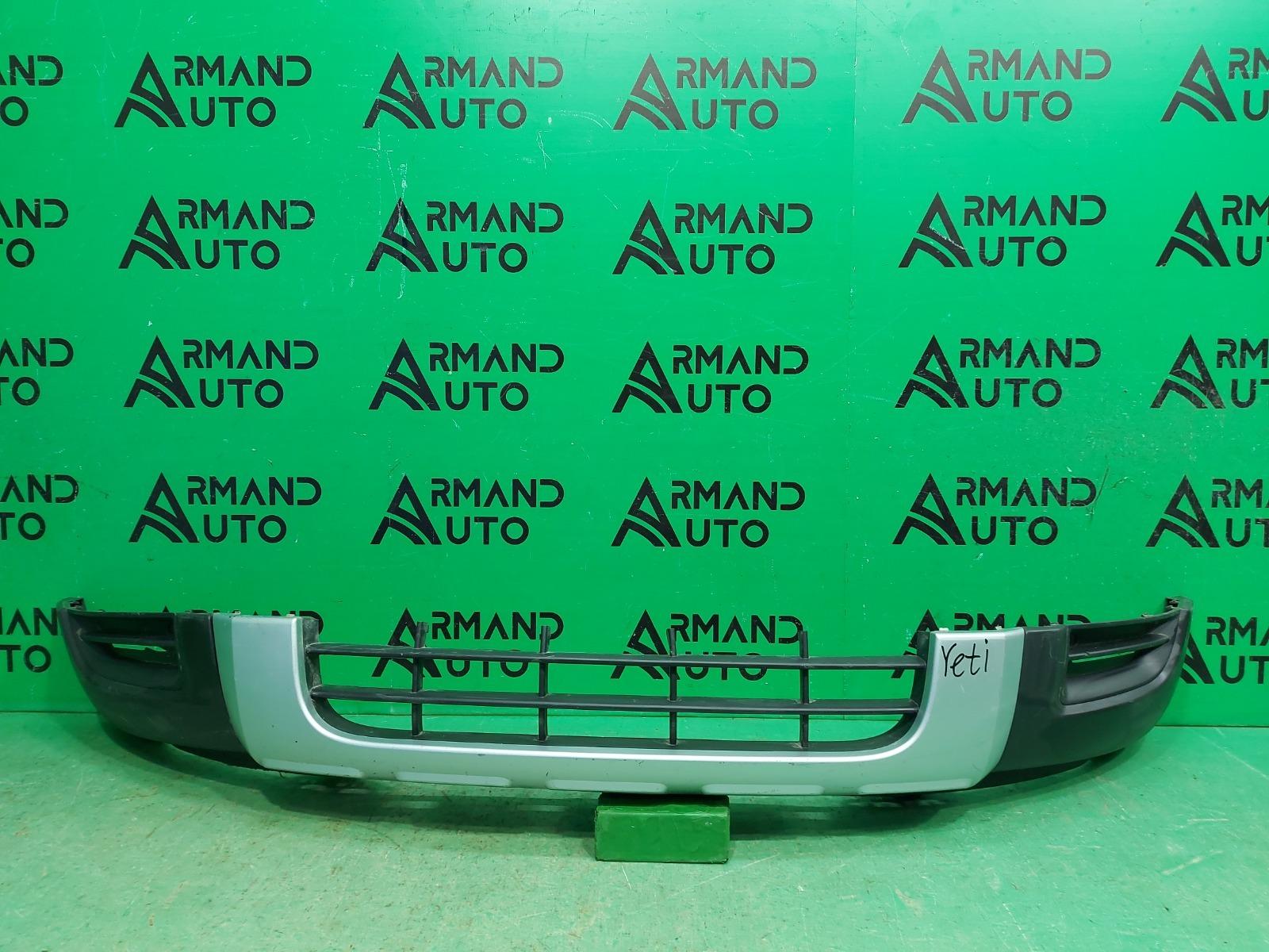 Юбка бампера Skoda Yeti 1 2009 передняя (б/у)