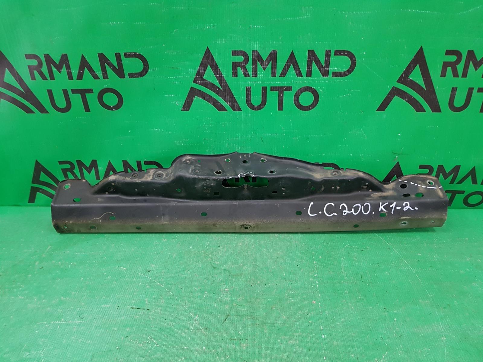 Панель передняя ( телевизор ) Toyota Land Cruiser 200 РЕСТАЙЛИНГ 2012 верхний (б/у)