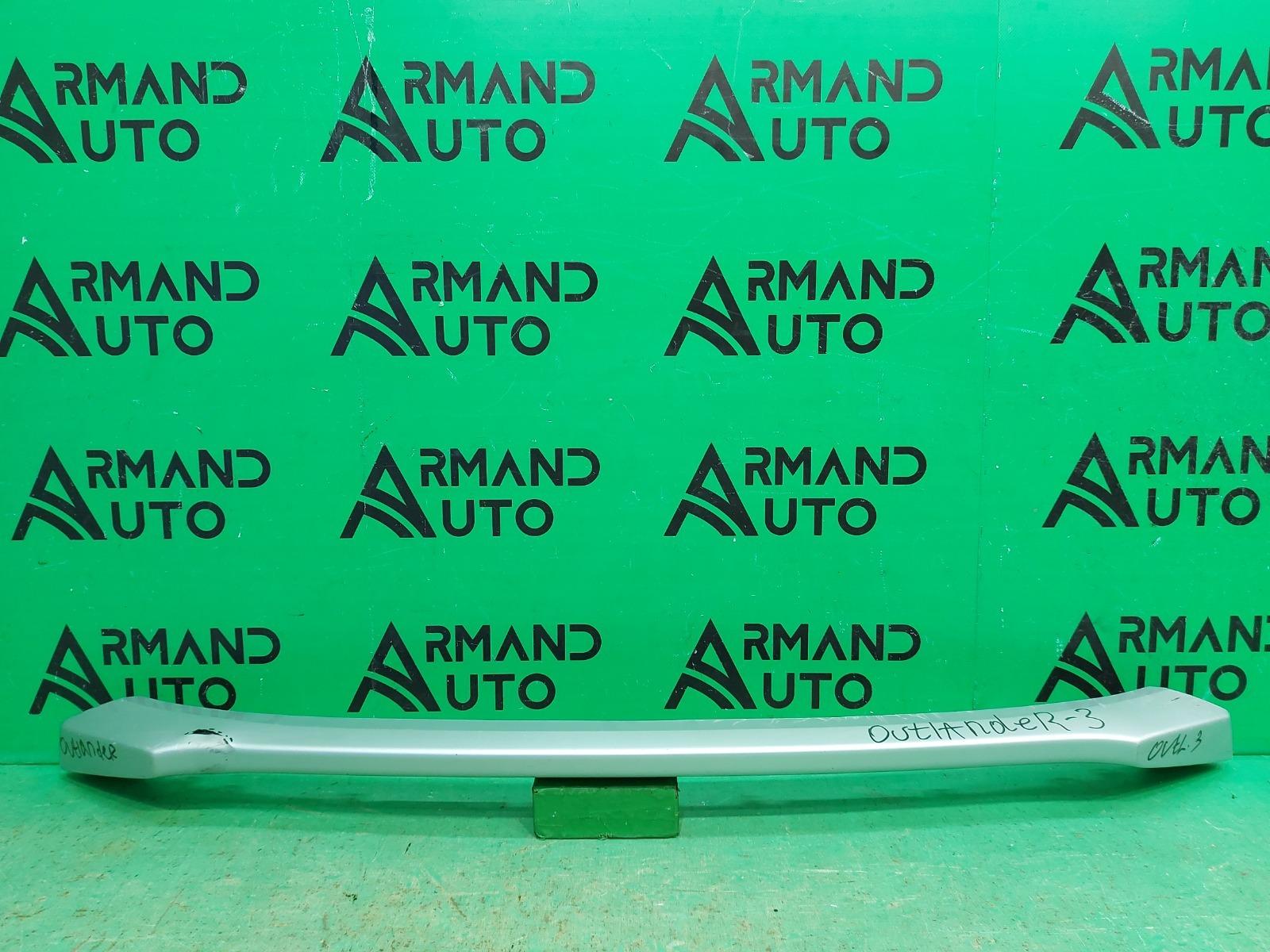 Накладка бампера Mitsubishi Outlander 3 РЕСТАЙЛИНГ 2 2015 передняя (б/у)