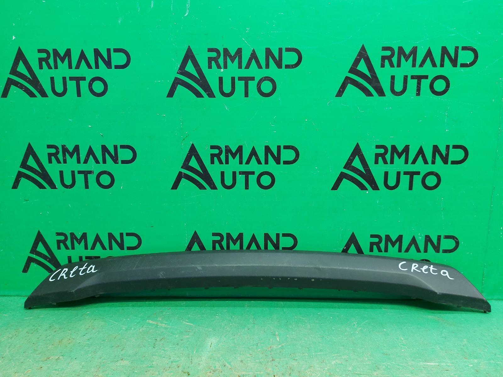 Накладка бампера Hyundai Creta 2016 передняя (б/у)