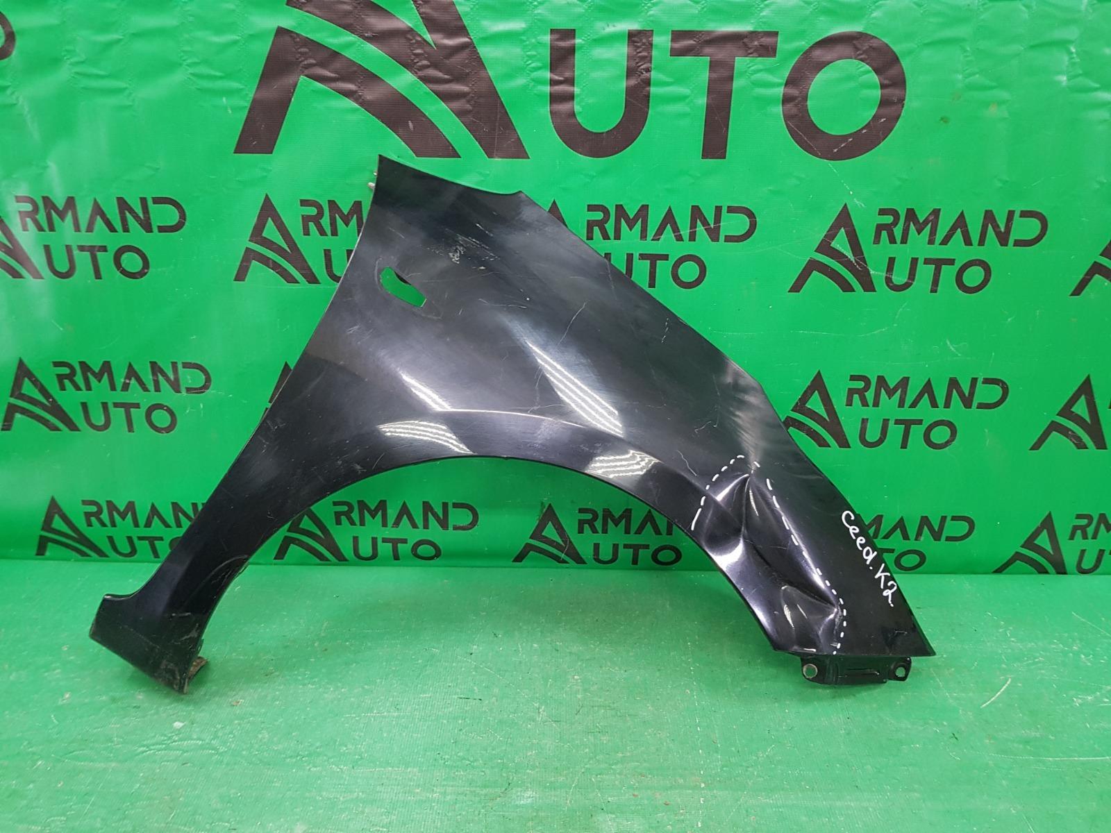 Крыло Kia Ceed 2 2012 переднее правое (б/у)