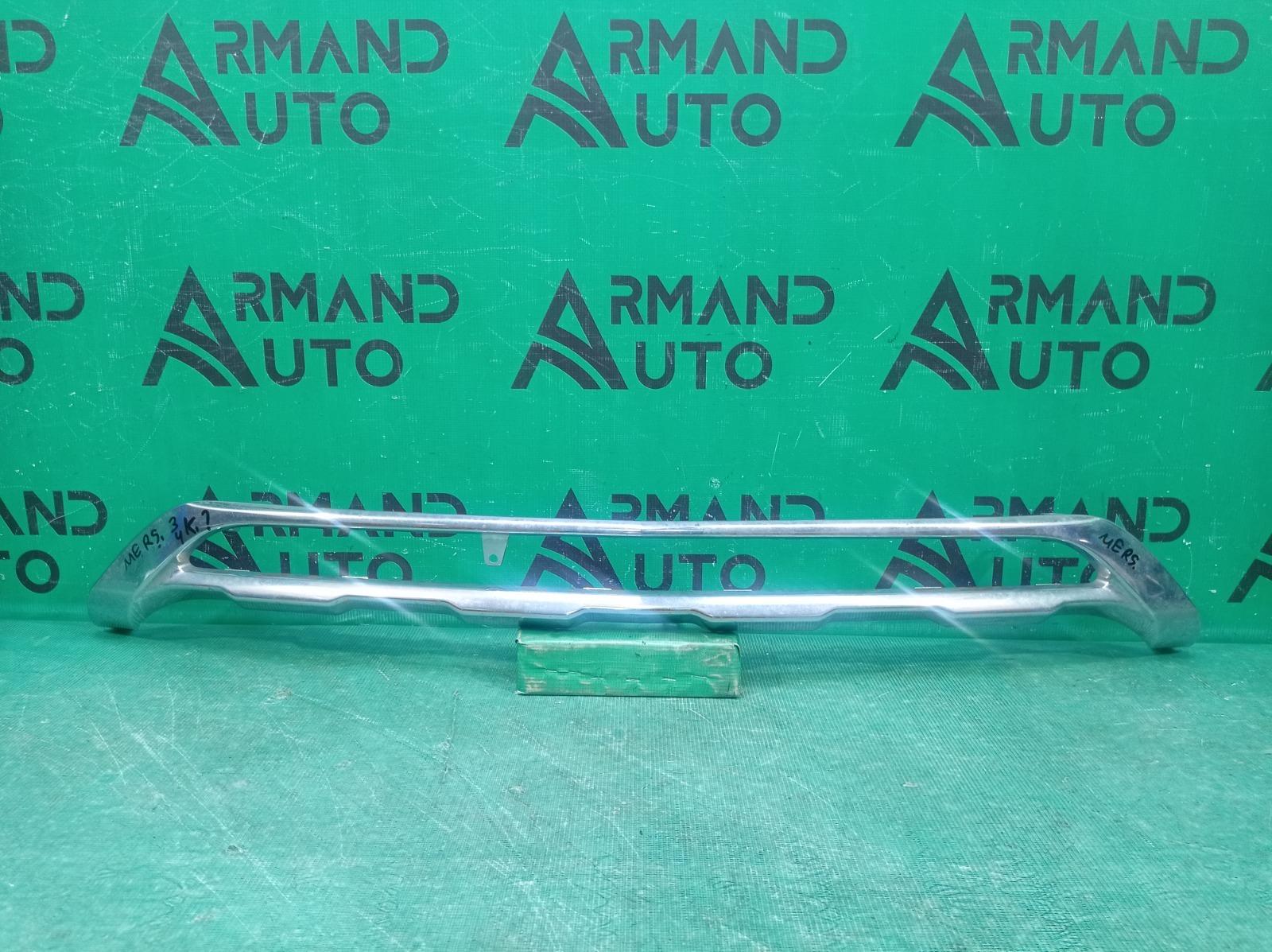 Накладка бампера Mercedes Glk-Class X204 2012 передняя (б/у)