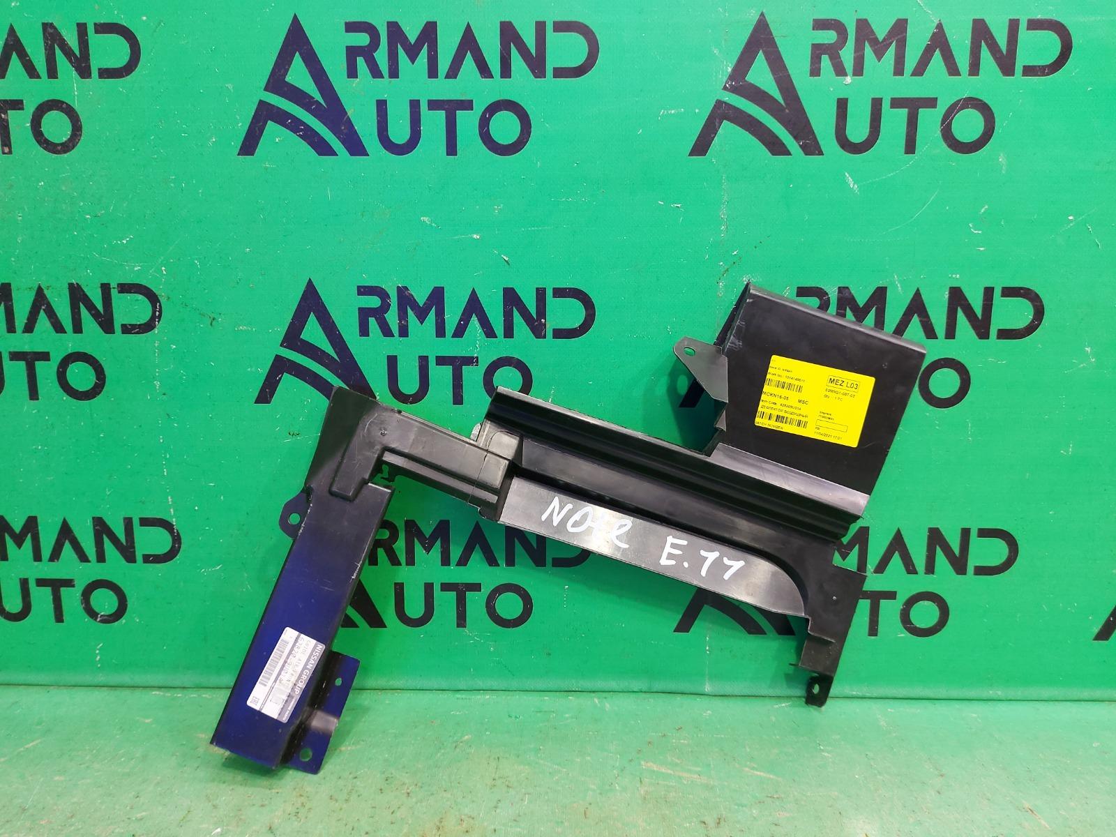 Дефлектор радиатора Nissan Note E11 2005 передний левый (б/у)