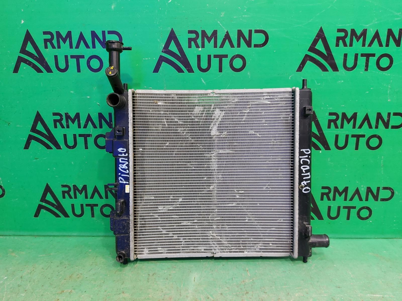 Радиатор охлаждения Kia Picanto 3 2017 (б/у)