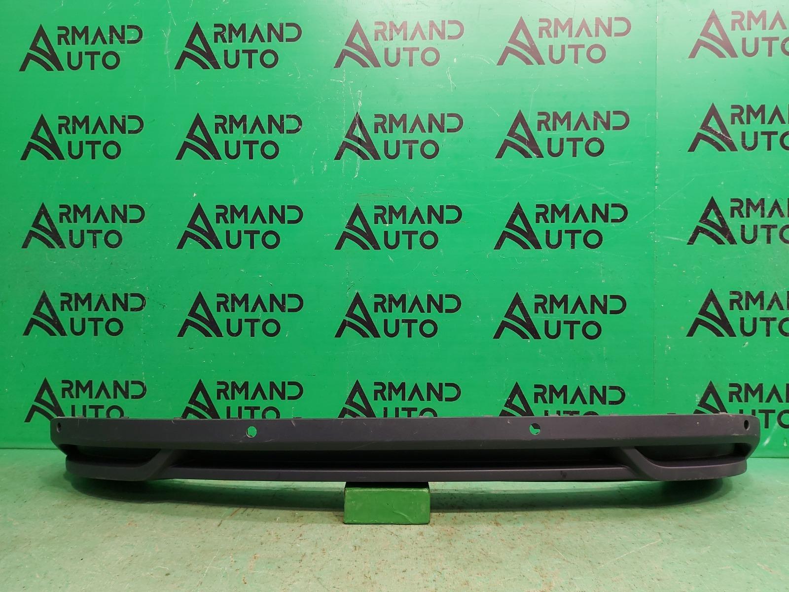 Юбка бампера Skoda Rapid 2 2020 задняя (б/у)