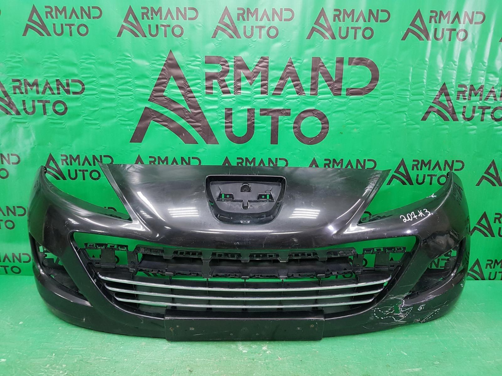 Бампер Peugeot 207 1 РЕСТАЙЛИНГ 2009 передний (б/у)