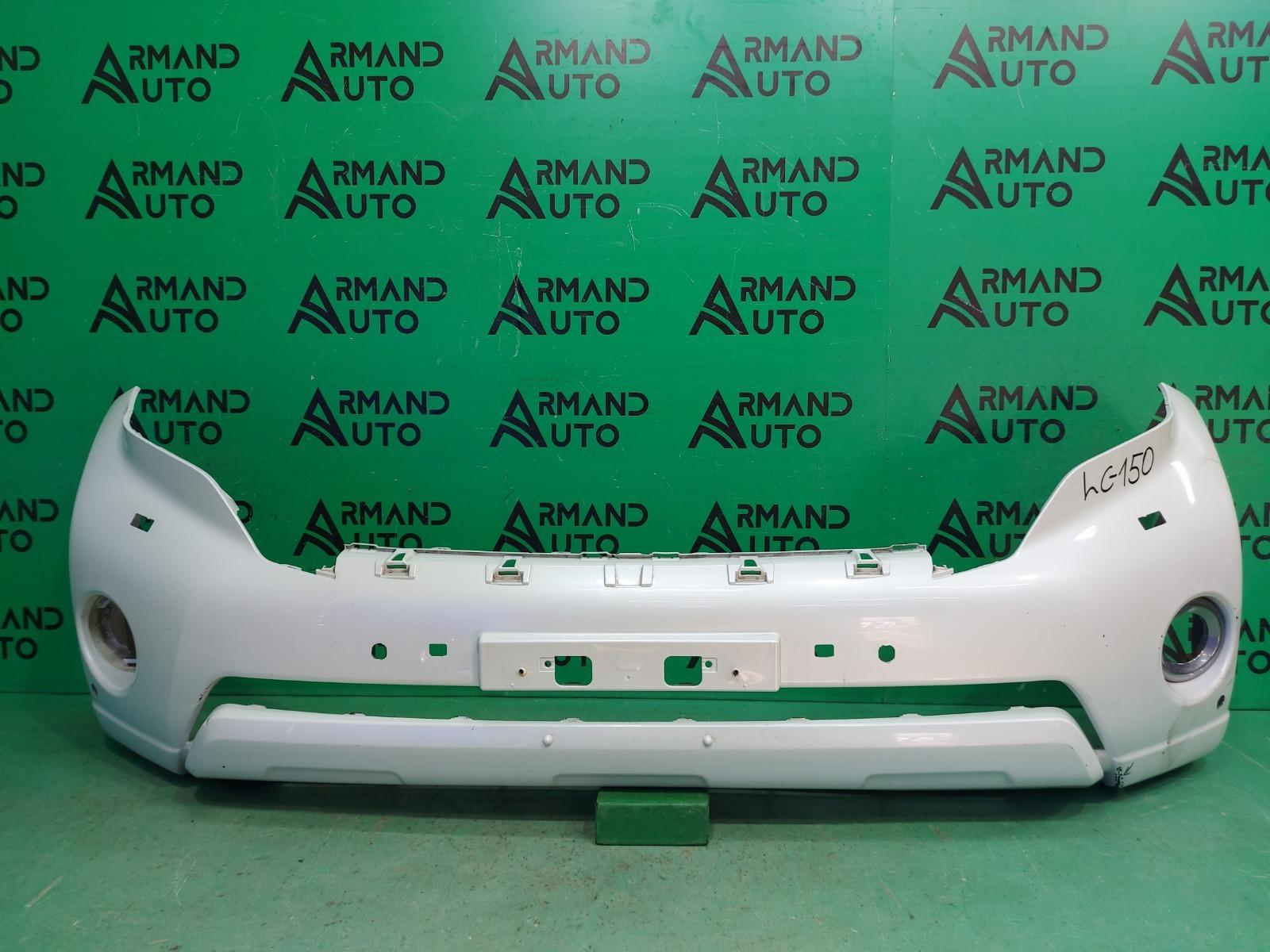 Бампер Toyota Land Cruiser 150 РЕСТАЙЛИНГ 2013 передний (б/у)