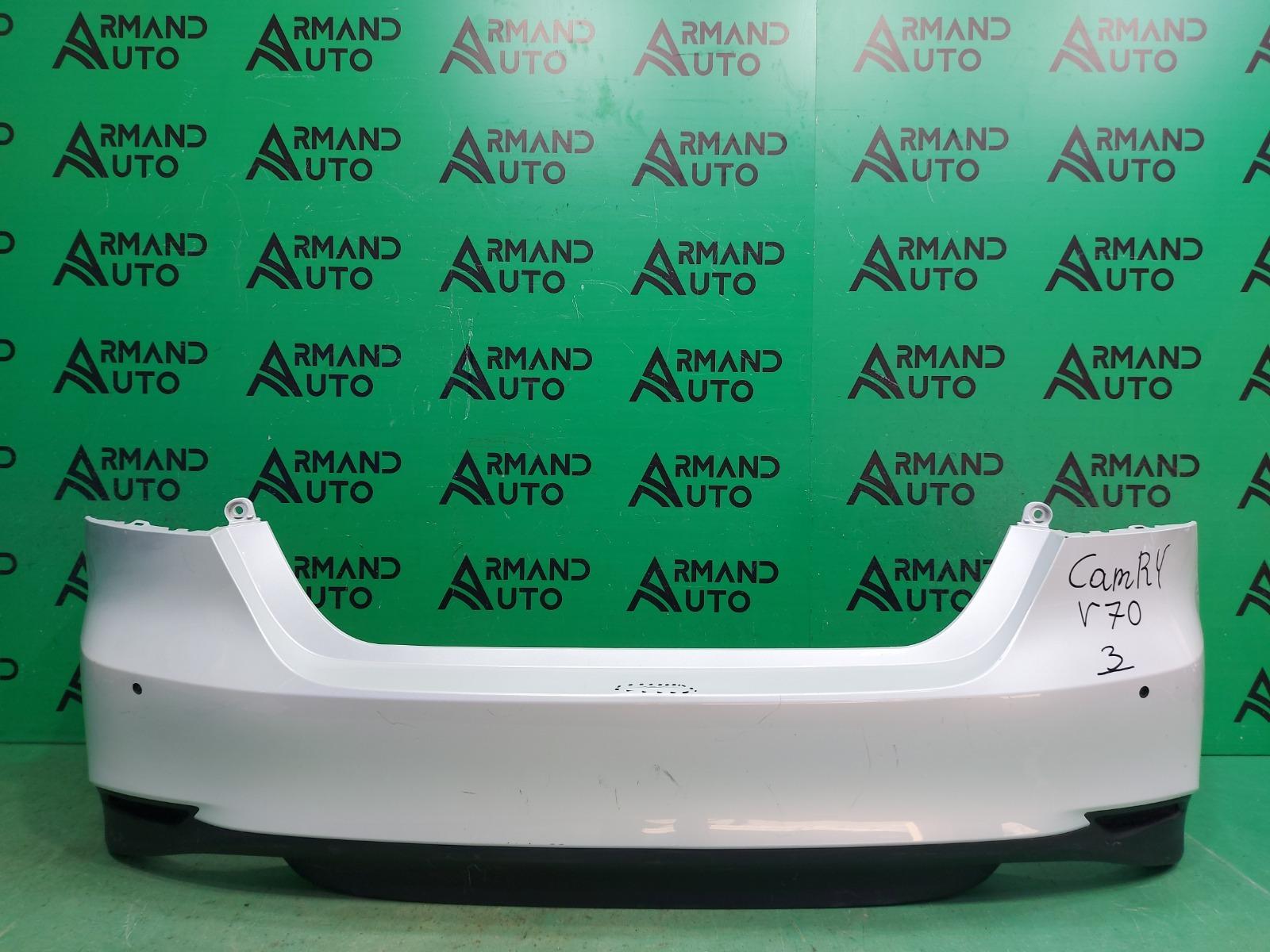 Бампер Toyota Camry V70 2018 задний (б/у)