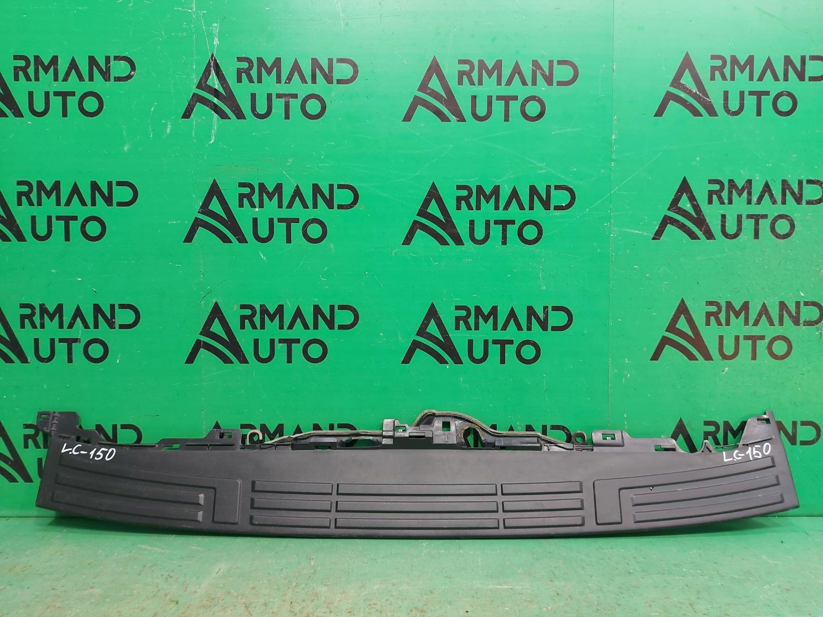 Накладка бампера Toyota Land Cruiser Prado 150 2009 задняя (б/у)