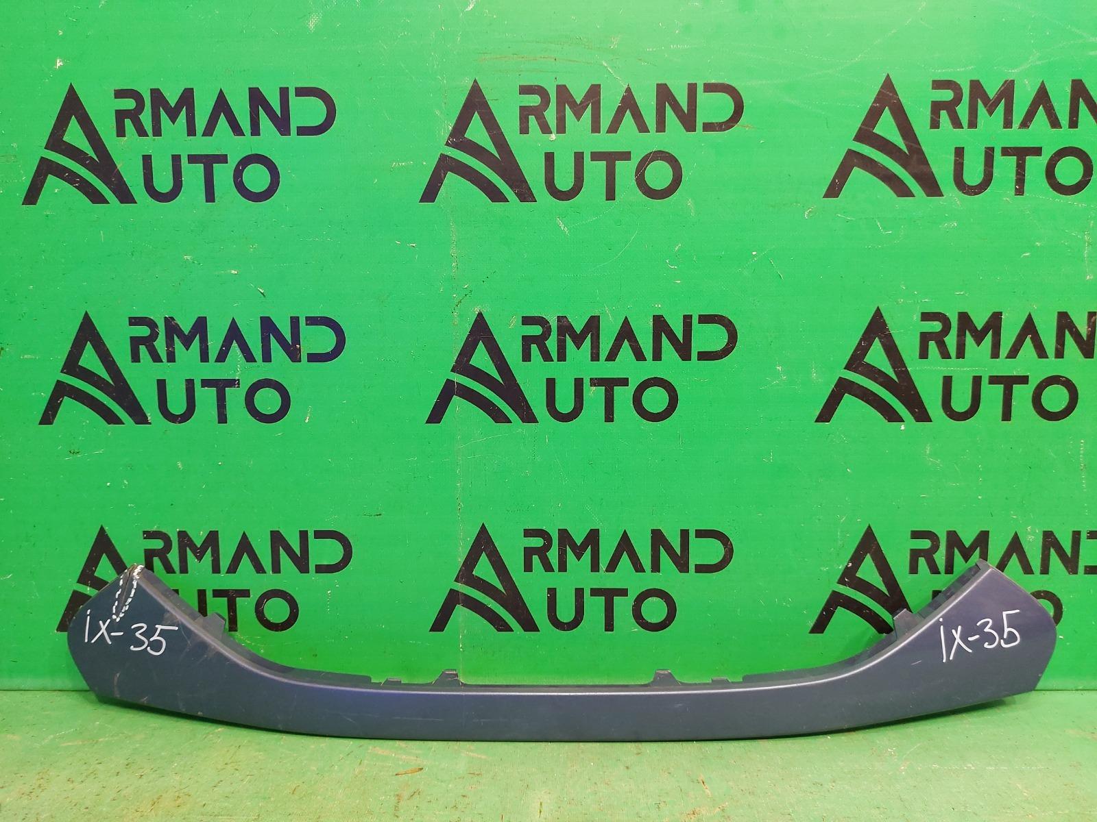 Накладка решетки радиатора Hyundai Ix35 2010 нижняя (б/у)