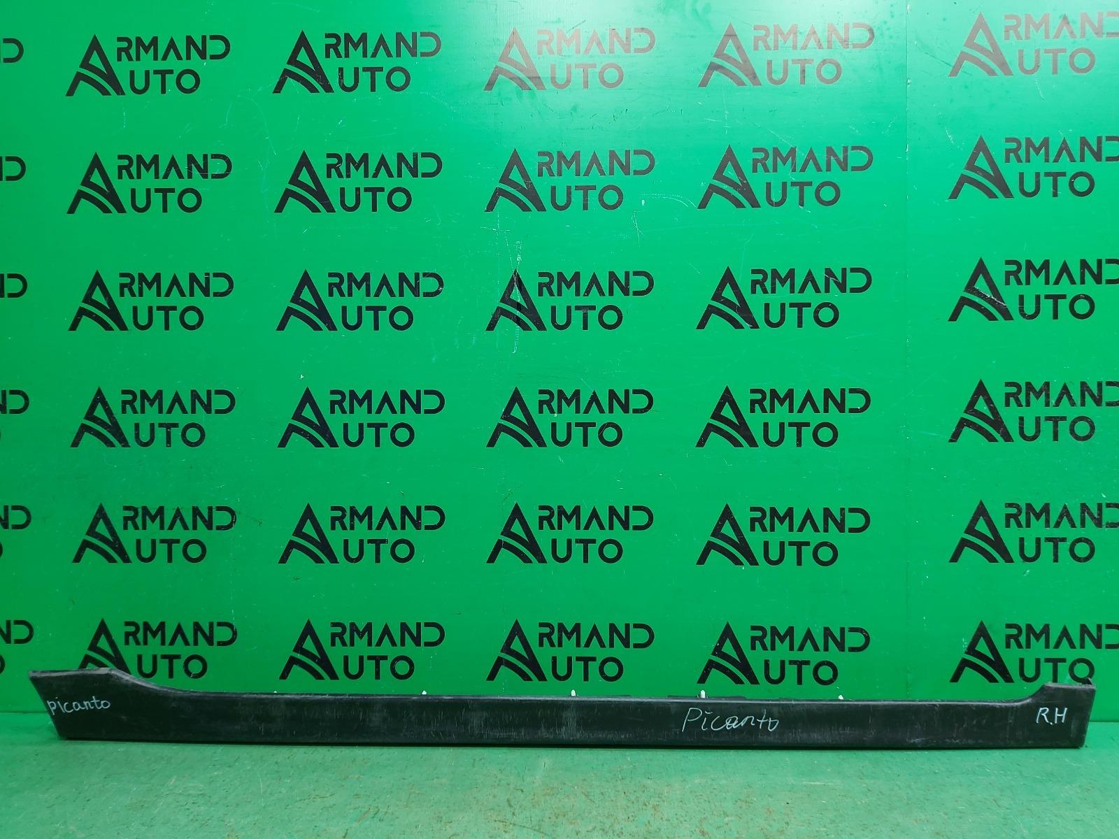 Накладка порога Kia Picanto 2 2011 правая (б/у)